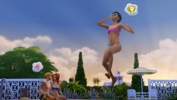 Pools in Die Sims 4