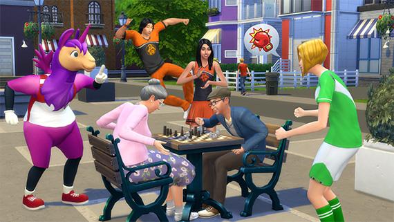 Die Sims 4 Dezember-Update mit neuen Berufen, Outfits, Deko und Cheat