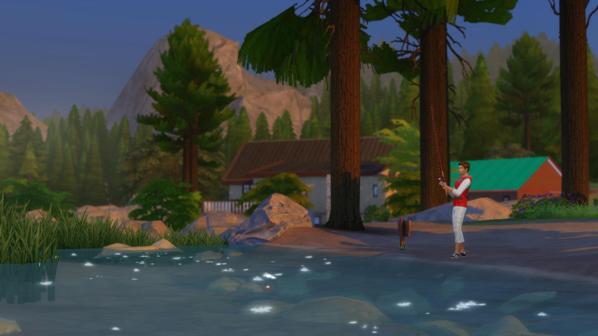 sims 4 tiefer wald