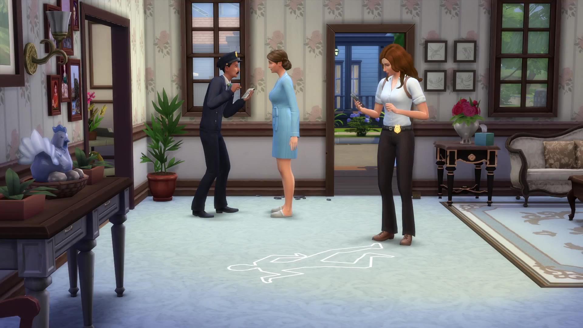 neue details zu die sims 4 an die arbeit simtimes. Black Bedroom Furniture Sets. Home Design Ideas