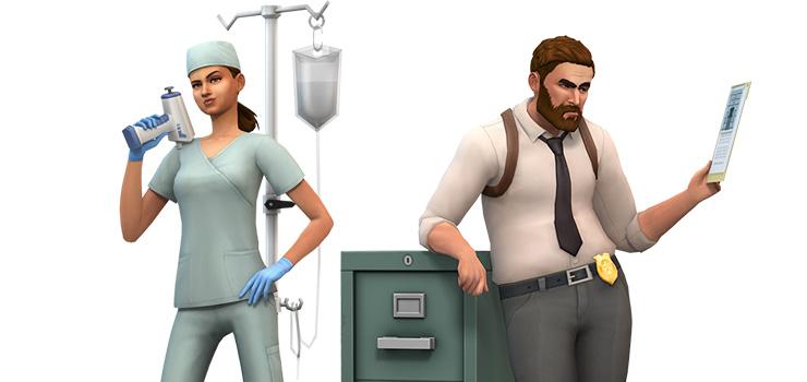9 neue Rendergrafiken zu Die Sims 4: An die Arbeit!