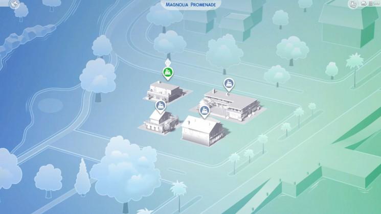 Neue Nachbarschaft in Sims 4 an die Arbeit