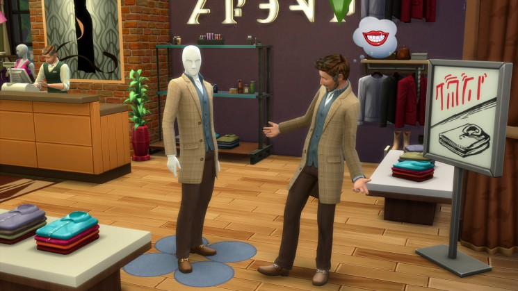 Die Sims 4 An die Arbeit - Eigene Geschäfte