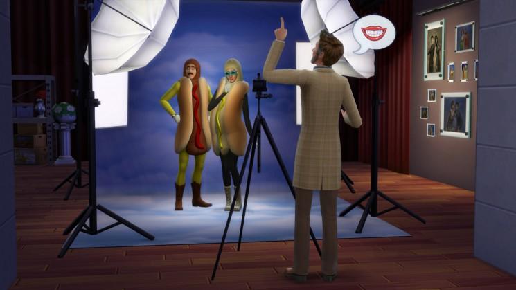 Fotostudio in Die Sims 4 An die Arbeit!