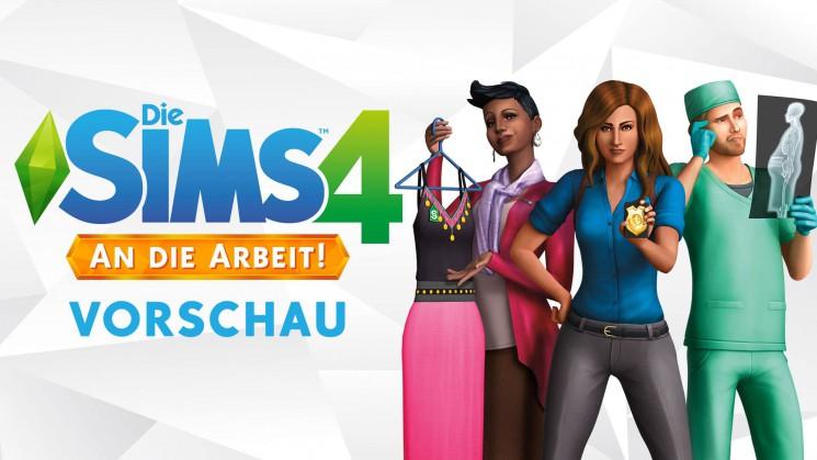 Angespielt: Die Sims 4 An die Arbeit!