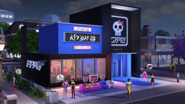 Galerie-Highlights: Geschäftsgrundstücke für Die Sims 4