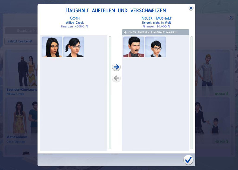 die sims 4 sims aus haushalt ausziehen lassen simtimes. Black Bedroom Furniture Sets. Home Design Ideas