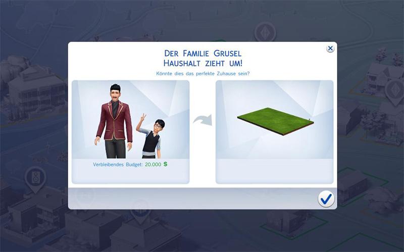 anleitung haushalte in die sims 4 aufteilen und sims ausziehen lassen. Black Bedroom Furniture Sets. Home Design Ideas