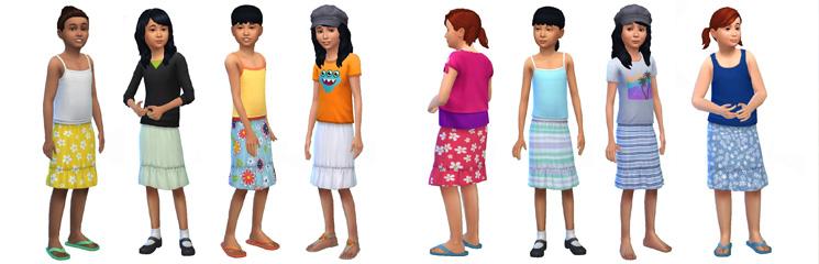 Mädchen aus der sims