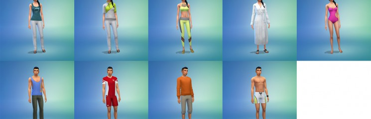 Die Sims 4 Wellness-Tag CAS