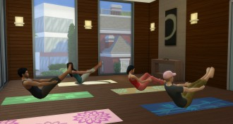 Yoga-Kurs in Die Sims 4 Wellness-Tag