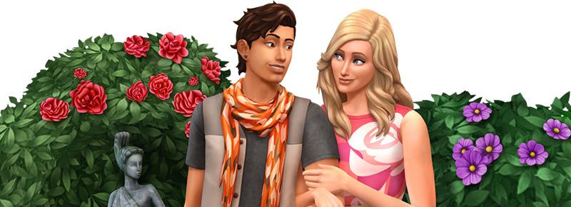 Ab heute Abend erhältlich: Die Sims 4 Romantische Garten-Accessoires