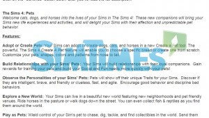 Neue offizielle Umfrage liefert mögliche Einblicke in Haustier-Erweiterung für Die Sims 4