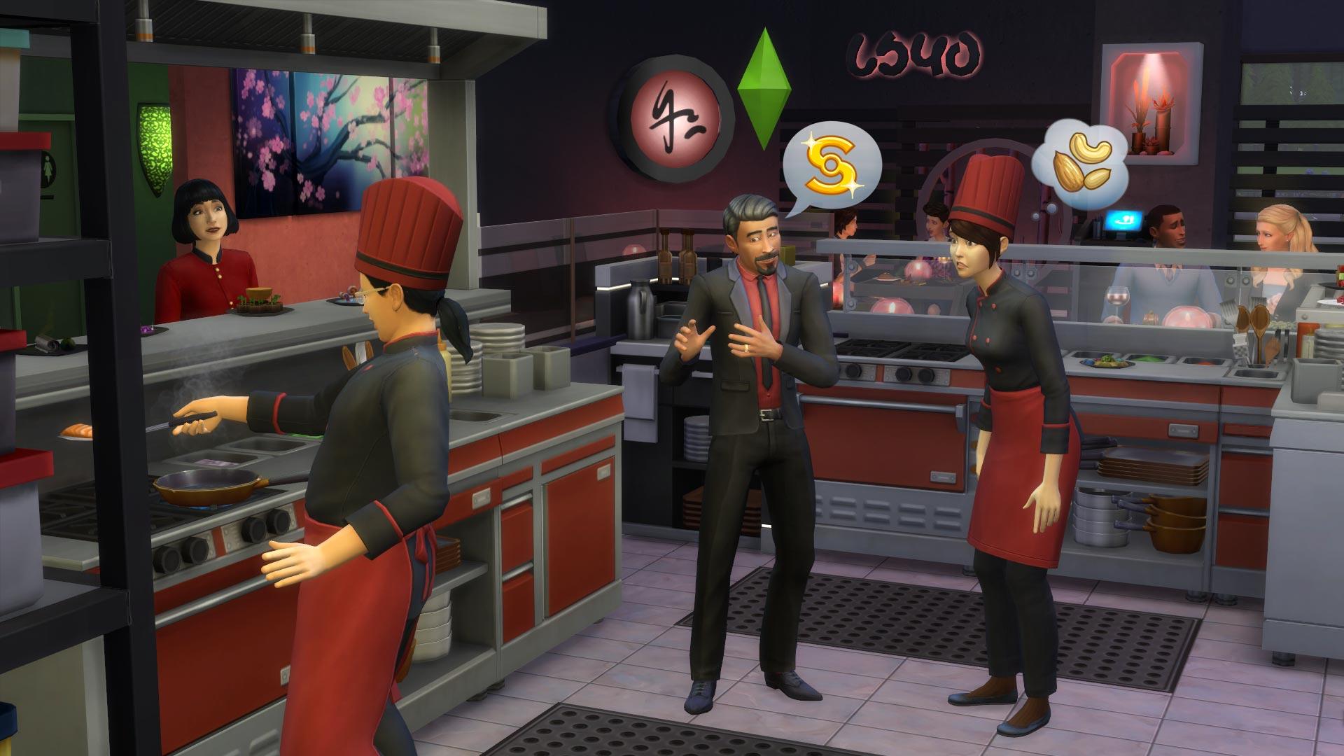 Eigene Sims nur als Restaurantmanager in Die Sims 4 ...