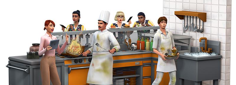 Offizieller Livestream zu Die Sims 4: Gaumenfreuden am Freitag