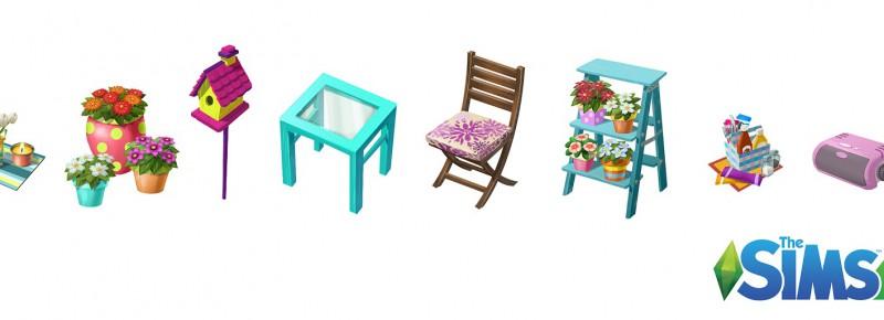 Konzeptgrafik Die Sims 4 Gartenspaß-Accessoires