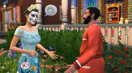 Día de Muertos-Herausforderung bald in Die Sims 4