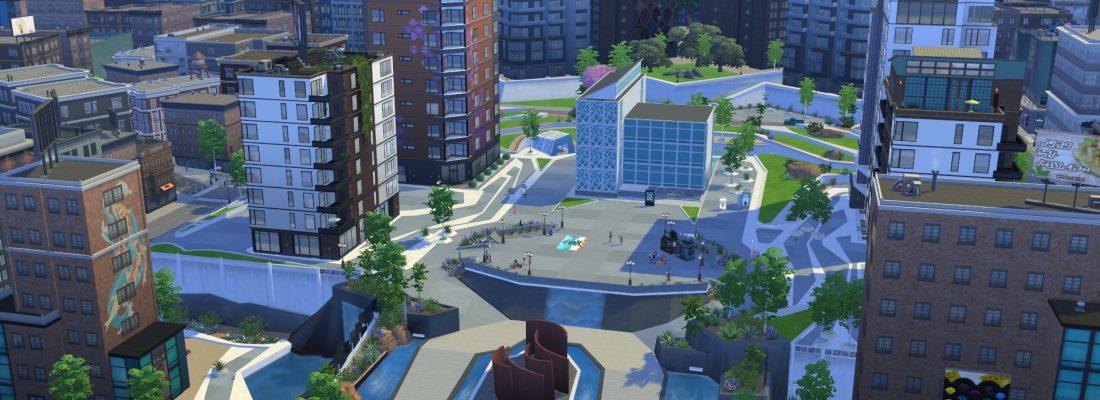 Angespielt Zwei Sims Entdecken Das Großstadtleben In Die Sims 4