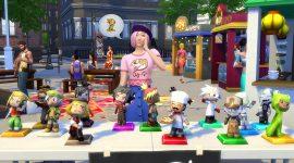 Die Sims 4 Großstadtleben: mehr über den Flohmarkt & Livestream