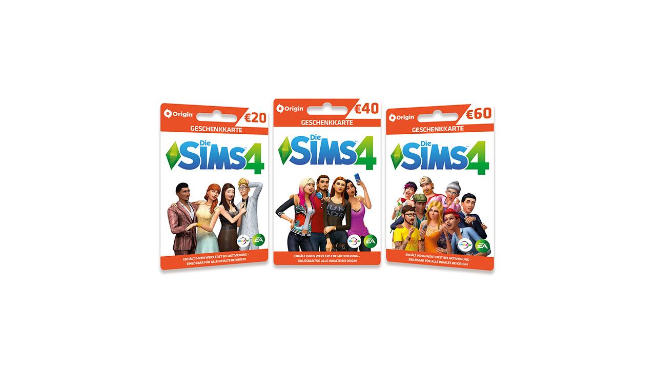 origin guthaben karte Origin Geschenkkarten im Die Sims 4 Stil verfügbar   SimTimes