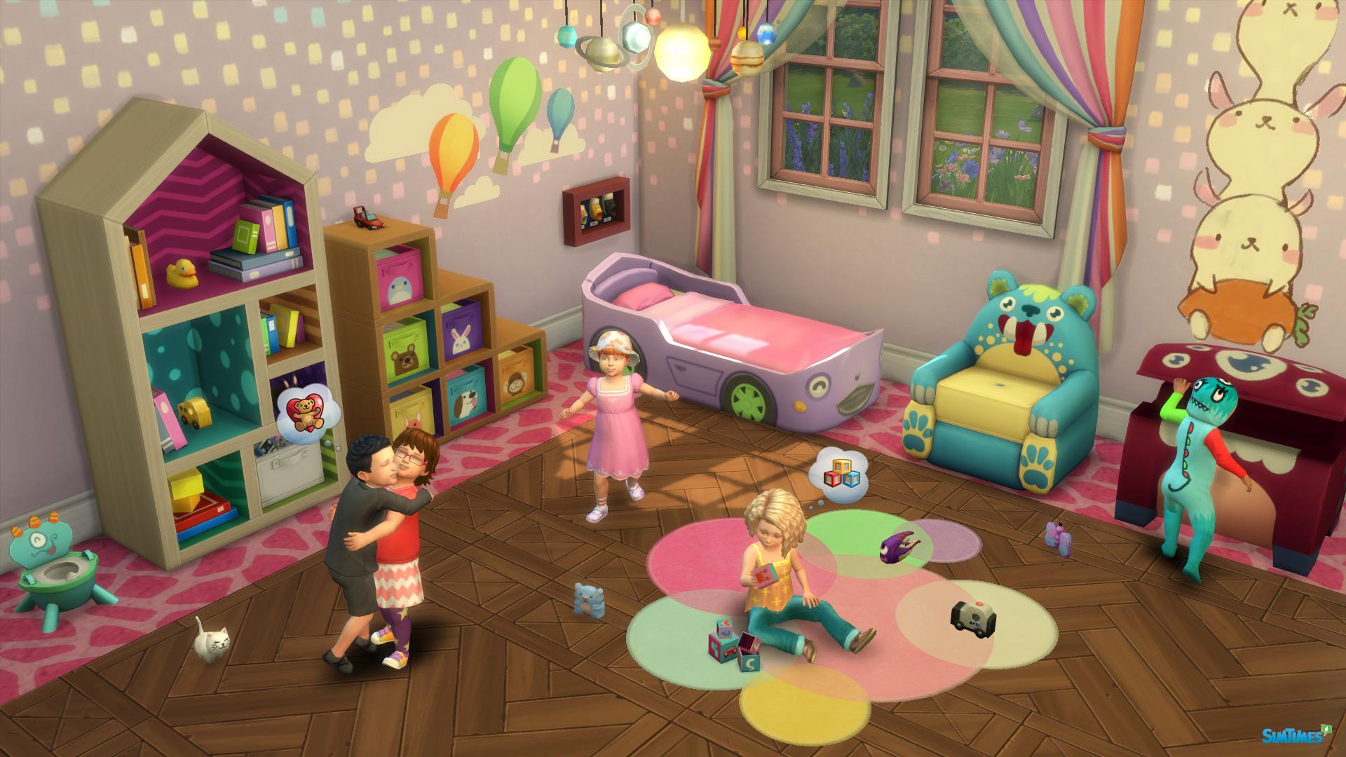 jetzt verfügbar: kleinkinder für die sims 4 - alle infos & interview, Badezimmer ideen