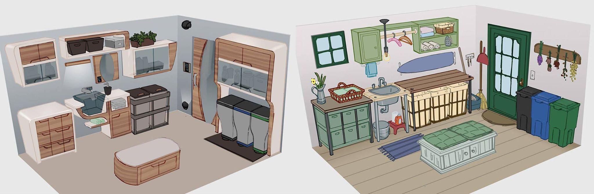 umfrage zum grafikstil des neuen die sims 4 accessoires. Black Bedroom Furniture Sets. Home Design Ideas