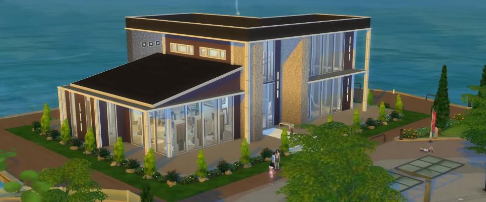 galerie spotlight 5 moderne fitnessstudios f r die sims 4. Black Bedroom Furniture Sets. Home Design Ideas