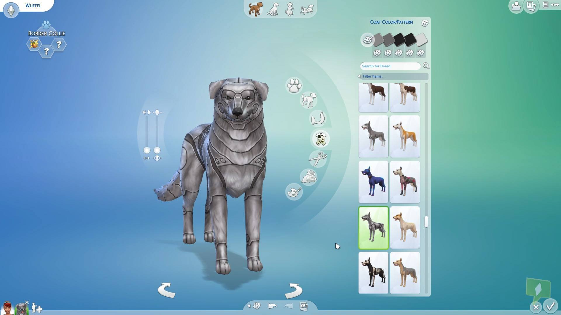 Sims  Cats And Dogs Llama