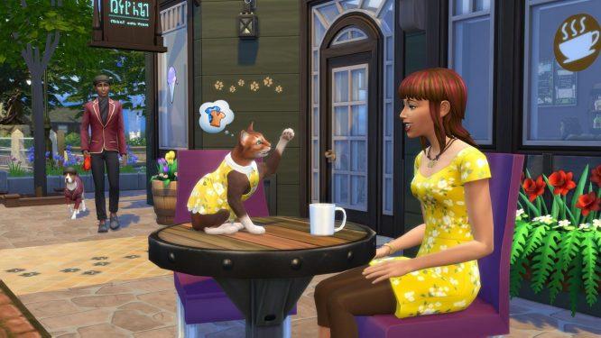 Erinnerung Heute Abend Livestream Zu Die Sims 4 Mein Erstes Haustier Accessoires Simtimes