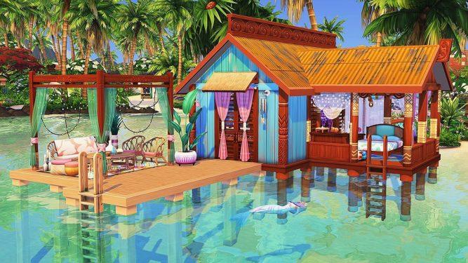 5 Tolle Strandgrundstucke Fur Die Sims 4 Inselleben Simtimes
