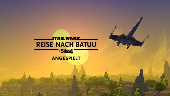 Vorschaubericht zu Die Sims 4 Star Wars Reise nach Batuu