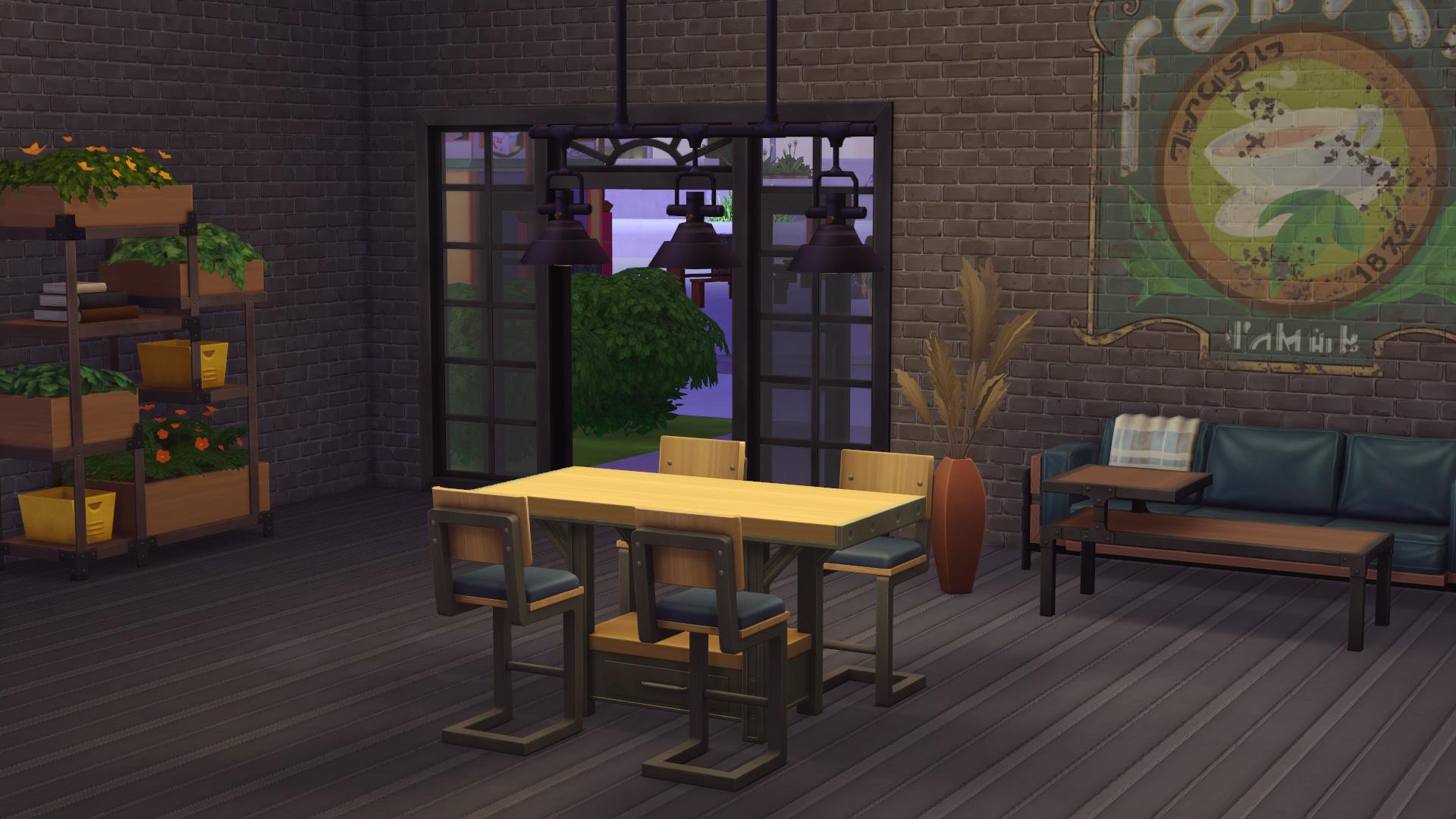Das ist drin im Die Sims 21 Industrie Loft Set   SimTimes