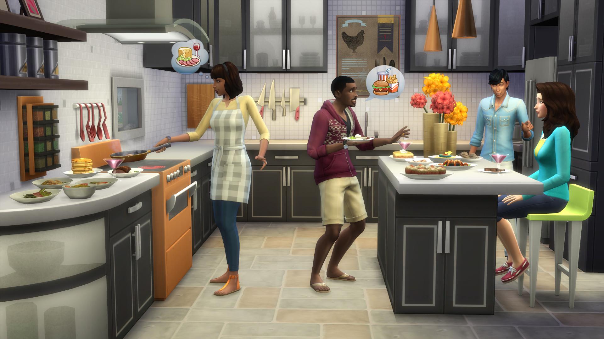 Coole Küchen die sims 4 coole küchen accessoires simtimes