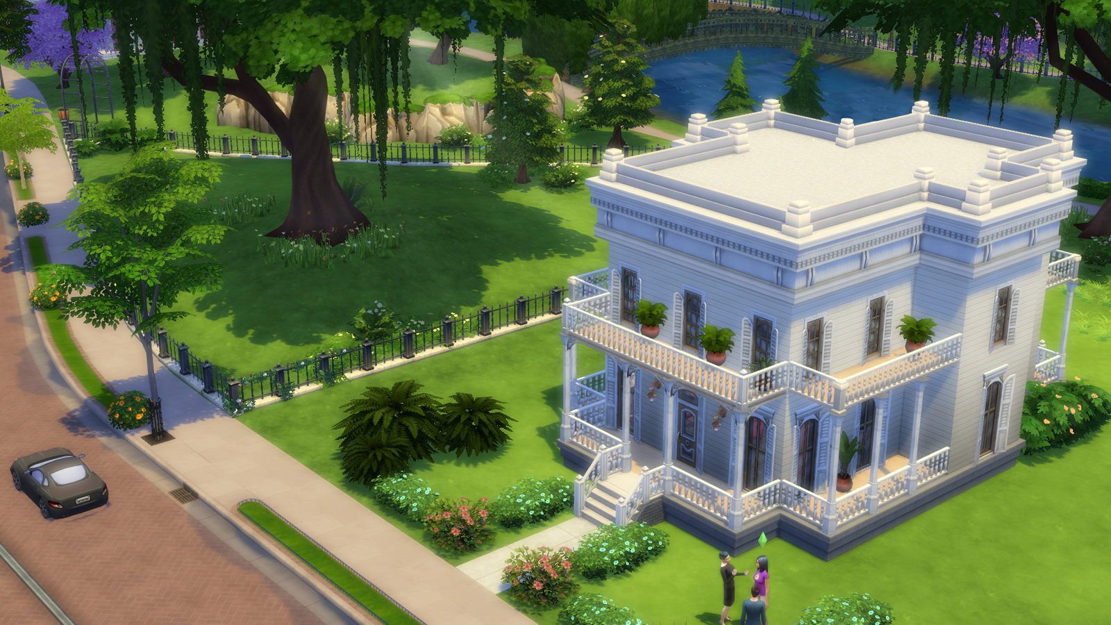 Die sims 4 modding und custom content simtimes - The sims 3 case moderne ...