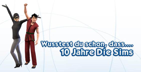 10 Jahre Die Sims - Kuriose Infos über Die Sims