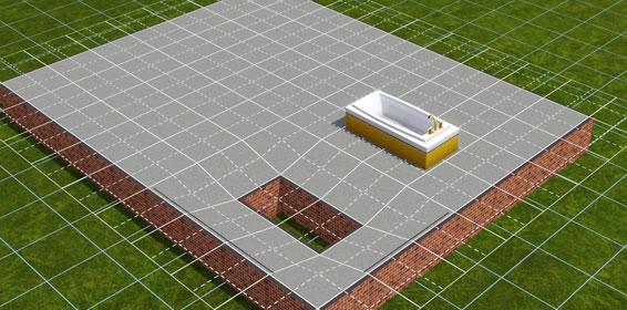 eine eingelassene badewanne bauen seite 5 von 7 simtimes. Black Bedroom Furniture Sets. Home Design Ideas