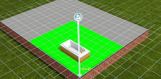 tutorial eingelassene badewanne in die sims 3 bauen. Black Bedroom Furniture Sets. Home Design Ideas