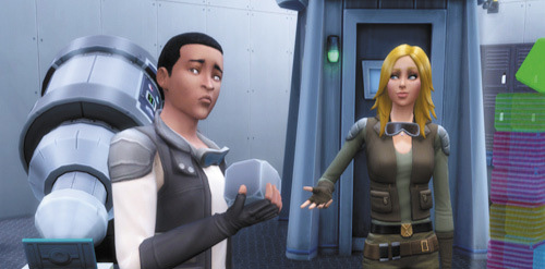 Die Sims 4 Karrieren und Berufe - Astronaut - Interstellarer Schmuggler