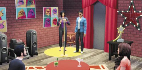 Die Sims 4 Karrieren und Berufe - Entertainer - Komiker