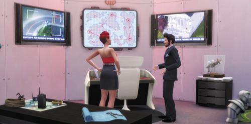 Die Sims 4 Karrieren und Berufe - Geheimagent - Diamanten-Agent
