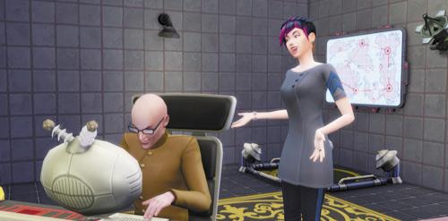 Die Sims 4 Karrieren und Berufe - Geheimagent - Schurke
