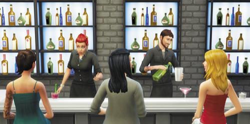 Die Sims 4 Karrieren und Berufe - Leckermaul - Mixer