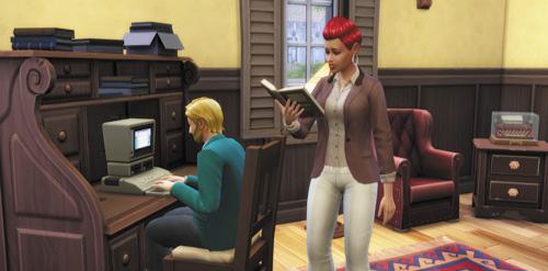 Die Sims 4 Karrieren und Berufe - Schriftsteller - Autor