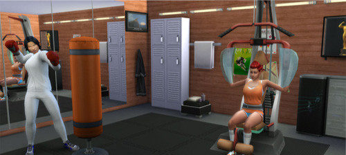 Die Sims 4 Karrieren und Berufe - Sportler - Bodybuilder