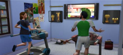 Die Sims 4 Karrieren und Berufe - Sportler - Profisportler