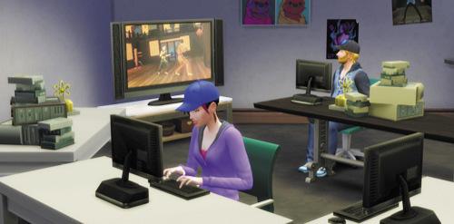 Die Sims 4 Karrieren und Berufe - Technikguru - eSportler