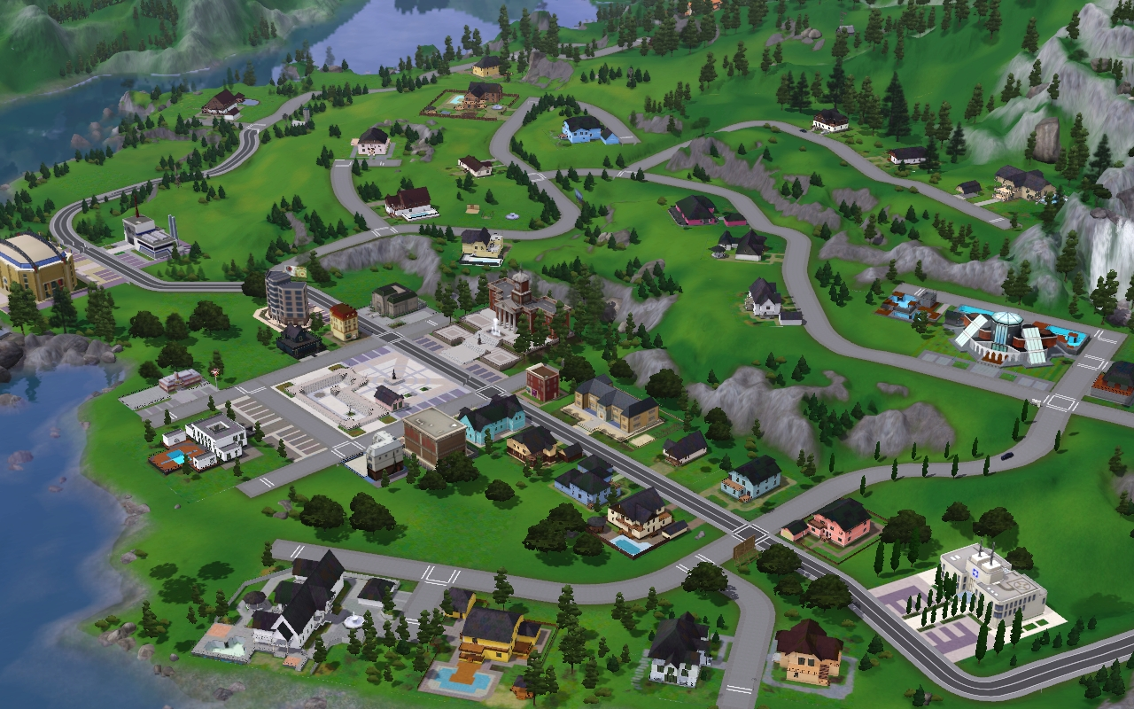 riverview the sims 3 download