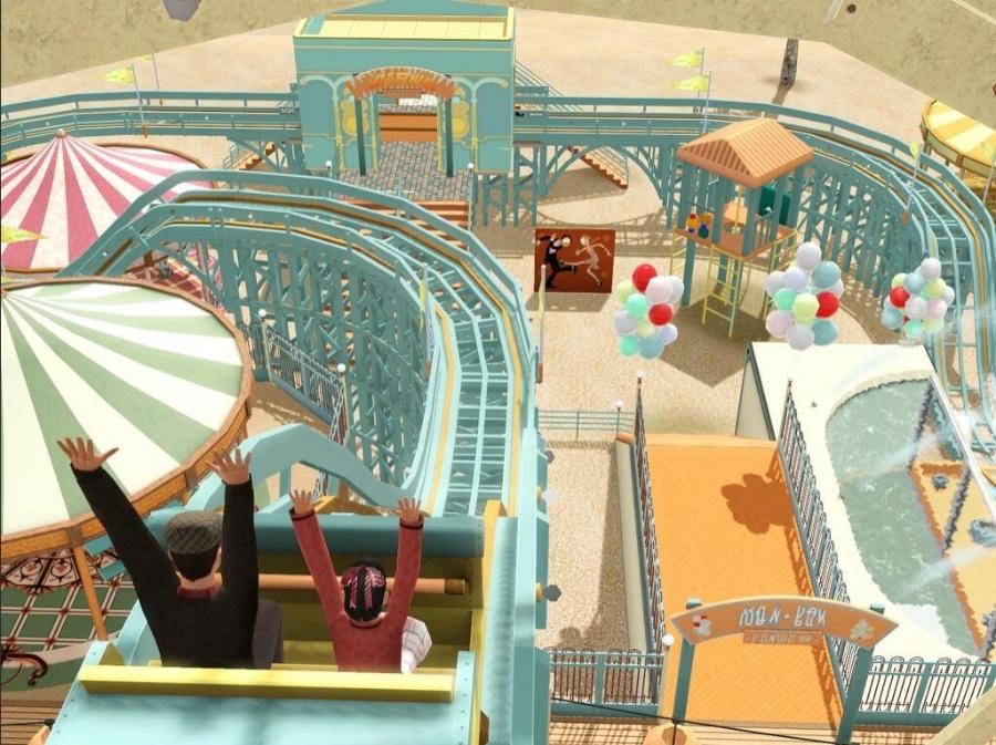 Die Sims 3 Roaring Heights - neue Store-Nachbarschaft ...