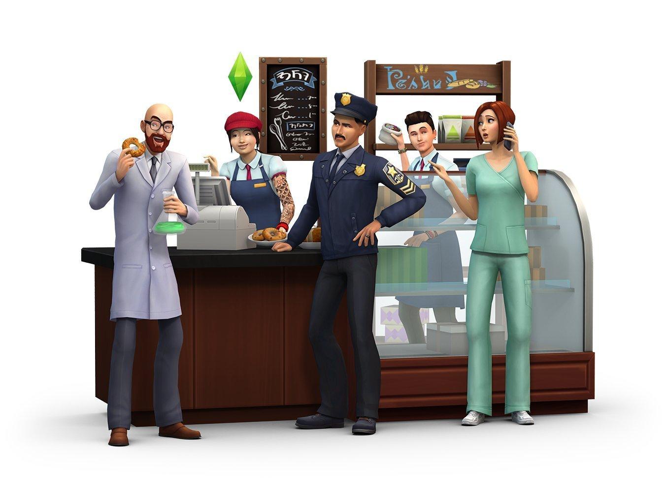 Screenshots Cover Vorbestllung Zu Die Sims 4 An Die Arbeit