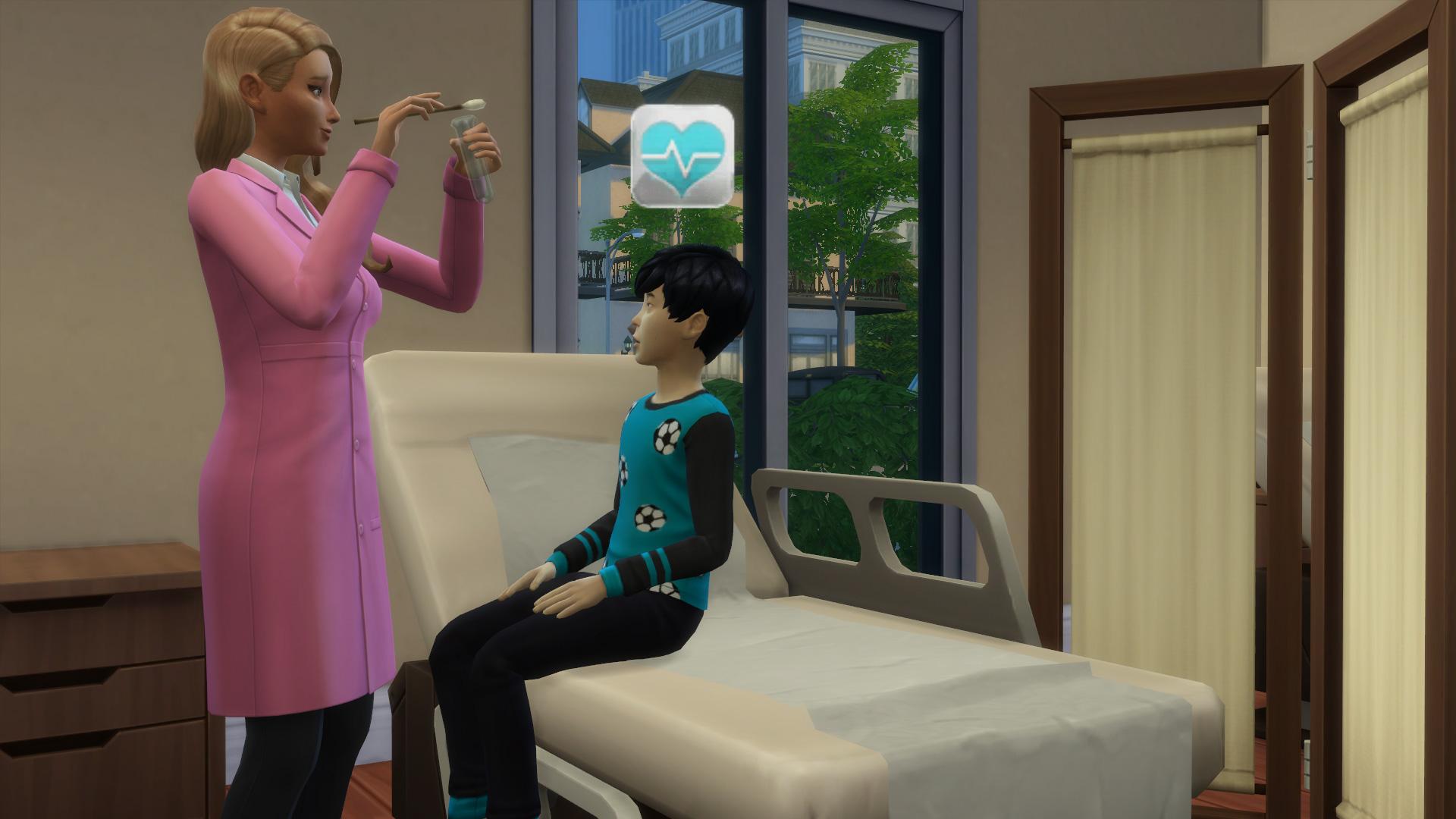 DIE SIMS 4: AN DIE ARBEIT #057 Ashley, die verrückte Wissenschaftlerin ☆ Lets Play Die Sims 4